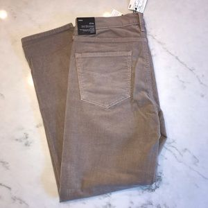 NWT corduroy pants! Light brown.